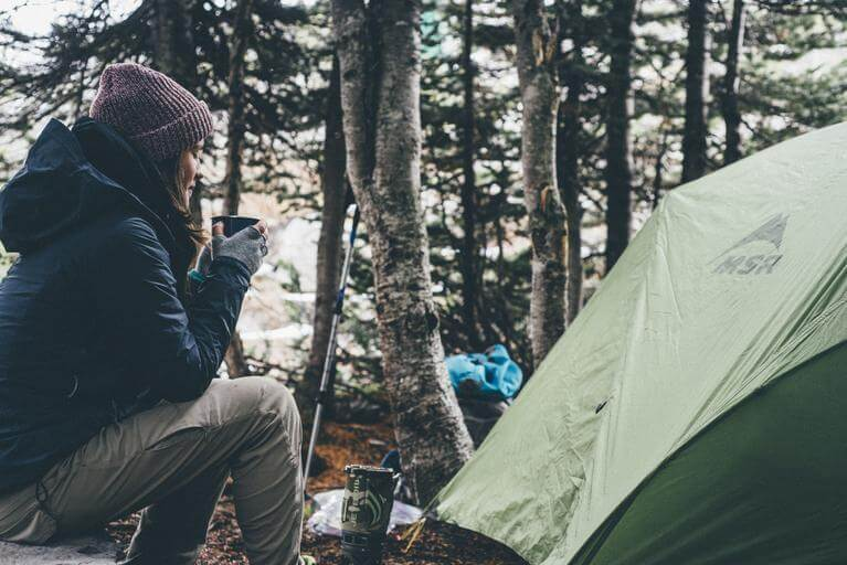 How to set up a hunting camp